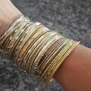 American Eagle Outfitters Jewelry - Huge Bundle of Bangles... boom!!!